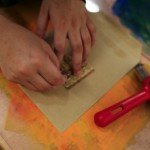 printmaking community arts workshops quality muslim women Midlands Arts Centre MAC West Midlands reflective practice sue challis adrienne francis frilly dilwara begum crafts